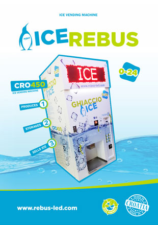 ice vending machine cro 450